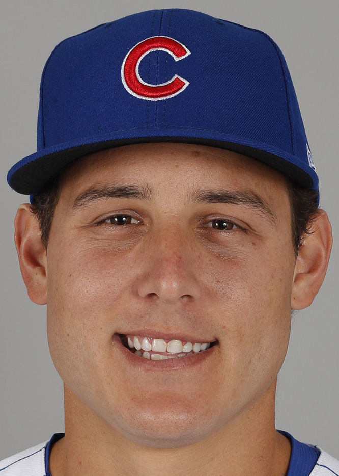 Anthony Rizzo, Cubs, hedshot