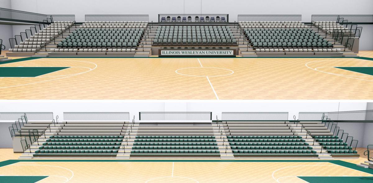 Shirk Center seats