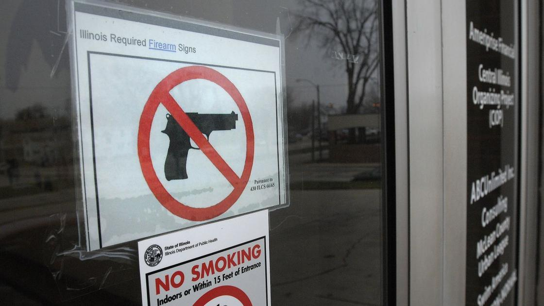 letters for signs state gun signs must comply to be enforceable news 1120