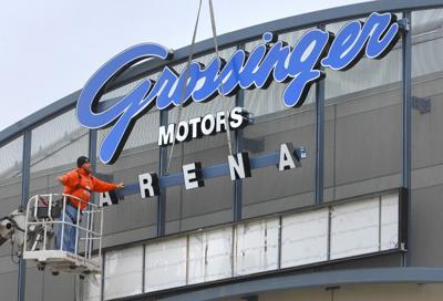 Grossinger Dealership Arena To Keep Names After Auto Group Sold