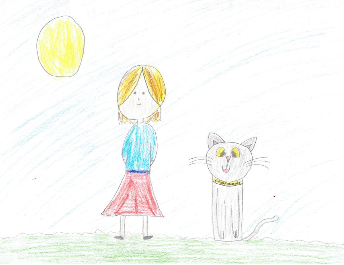 Clara Ponnou-Delaffon, grade 2, Glenn