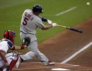 Four homers back Cards' Wellemeyer in 6-2 win over Nats