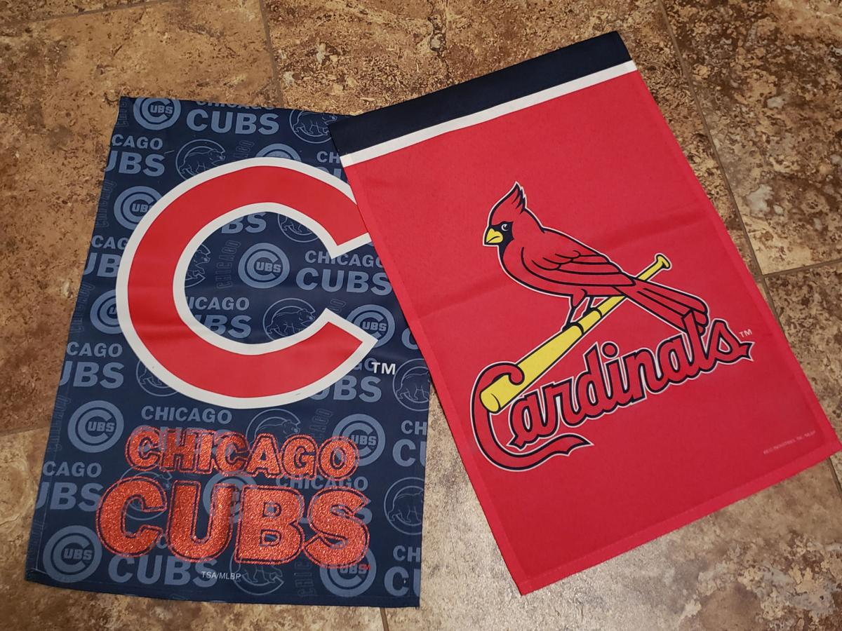 Cards, Cubs flags