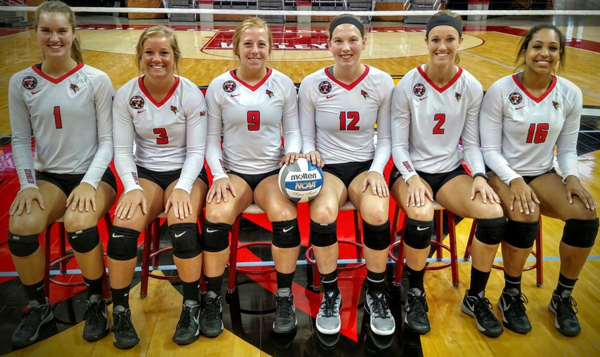 ISU volleyball photo