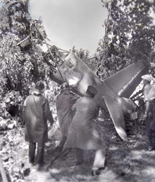 Cemetery air crash PFOP