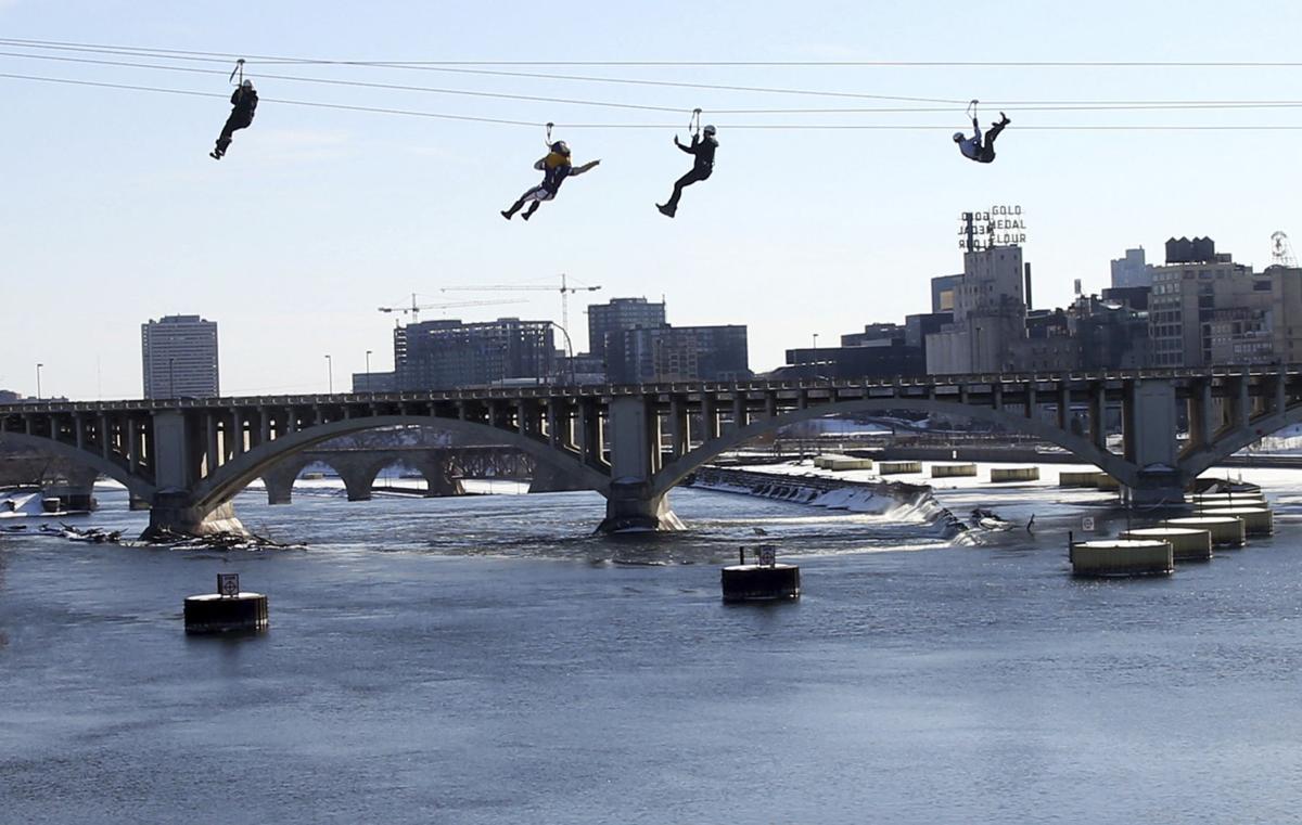 Ziplining The River