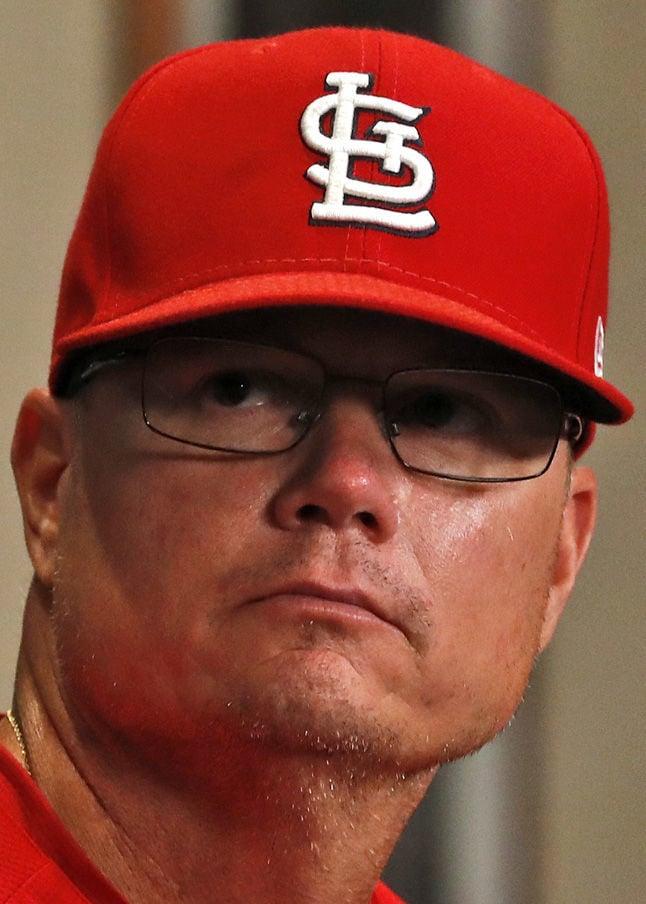 Mike Shildt, Cardinals, hedshot
