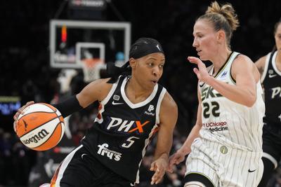 WNBA Finals Sky Mercury Basketball