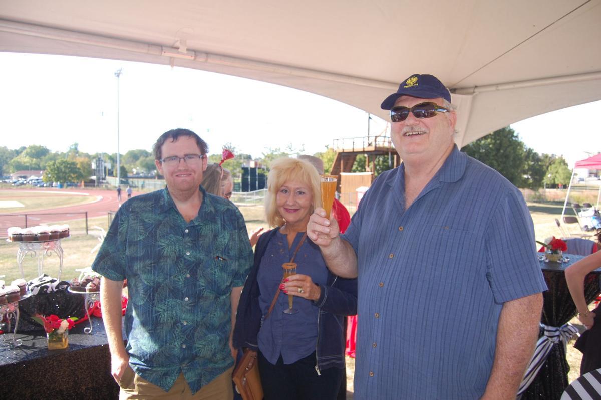Garrett, Angie and Frank Hoffman