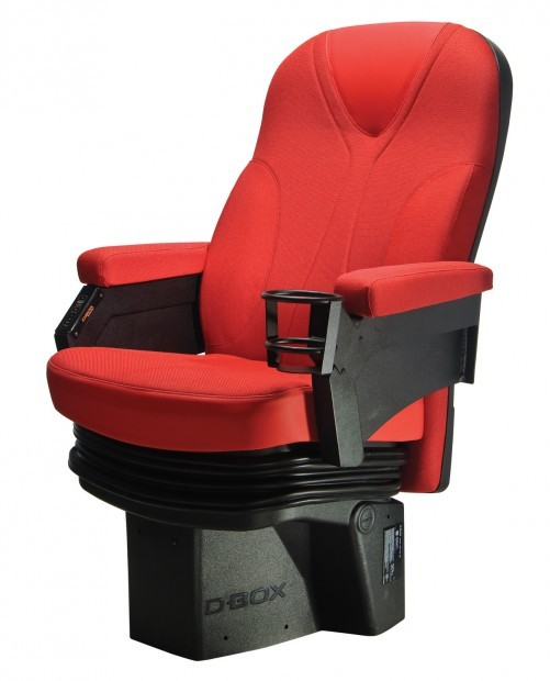 D-Box seating comes to Twin Cities