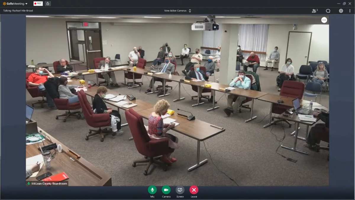 McLean County Executive Committee special meeting