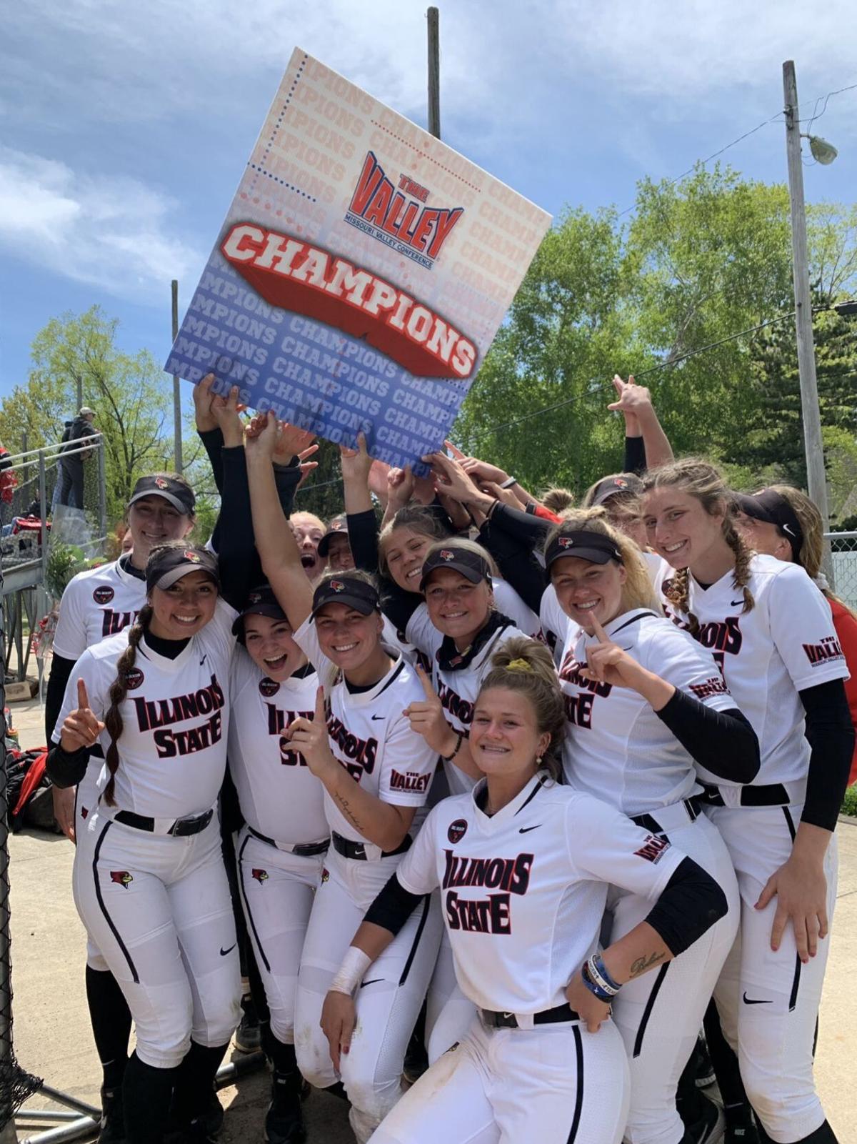Illinois State softball MVC champions