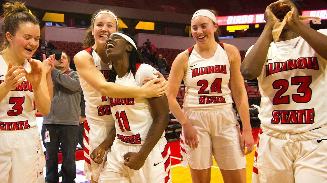Illinois State women's basketball team upsets 17th-ranked Missouri State