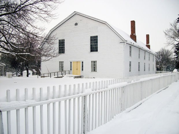 Colony Church at Bishop Hill