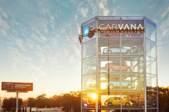 Strong Growth for Carvana, but Sales Fall Short
