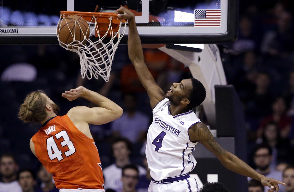 Illinois Northwestern Basketball