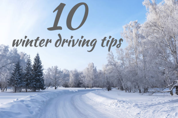 10 winter driving safety tips