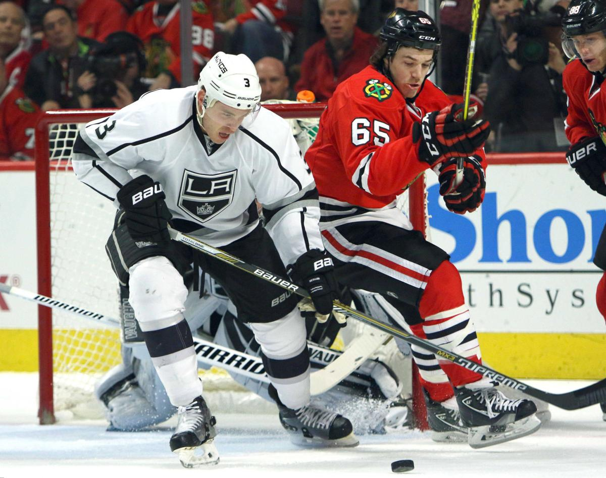 Blackhawks Kings Hockey