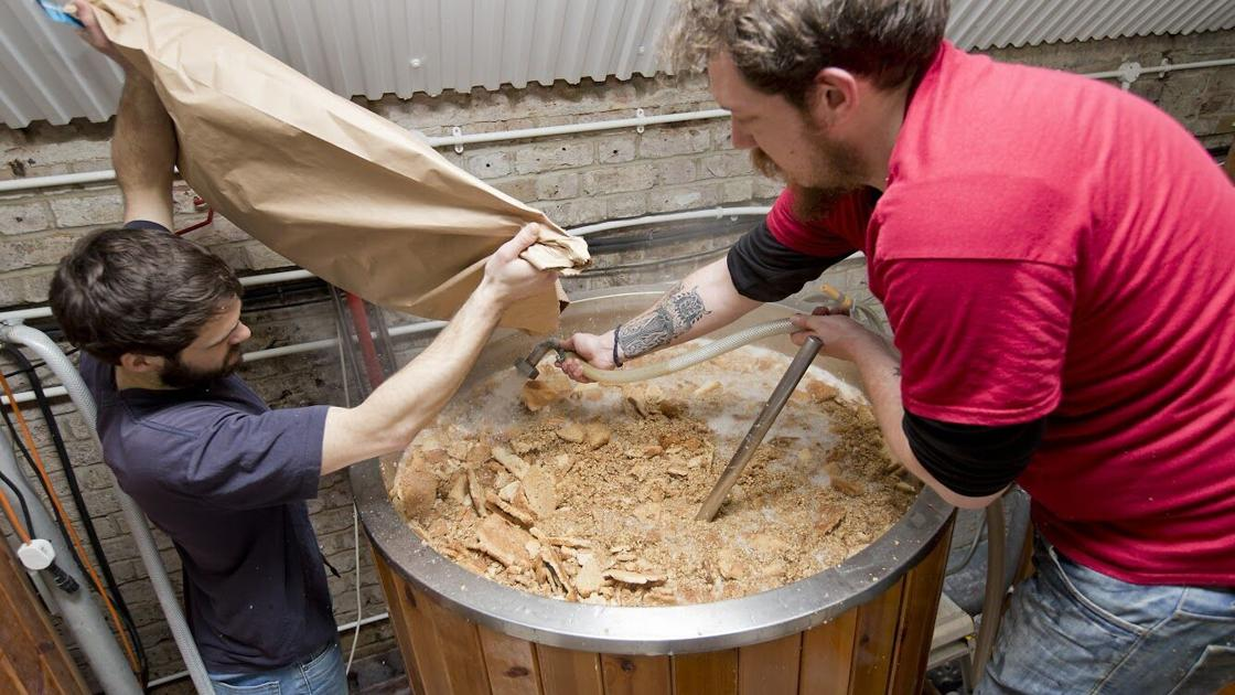 Today's trash is tomorrow's booze, thanks to innovative producers reducing food waste