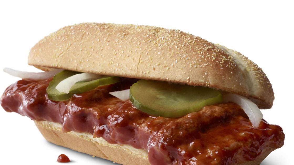 McDonald's is finally bringing back the McRib nationwide