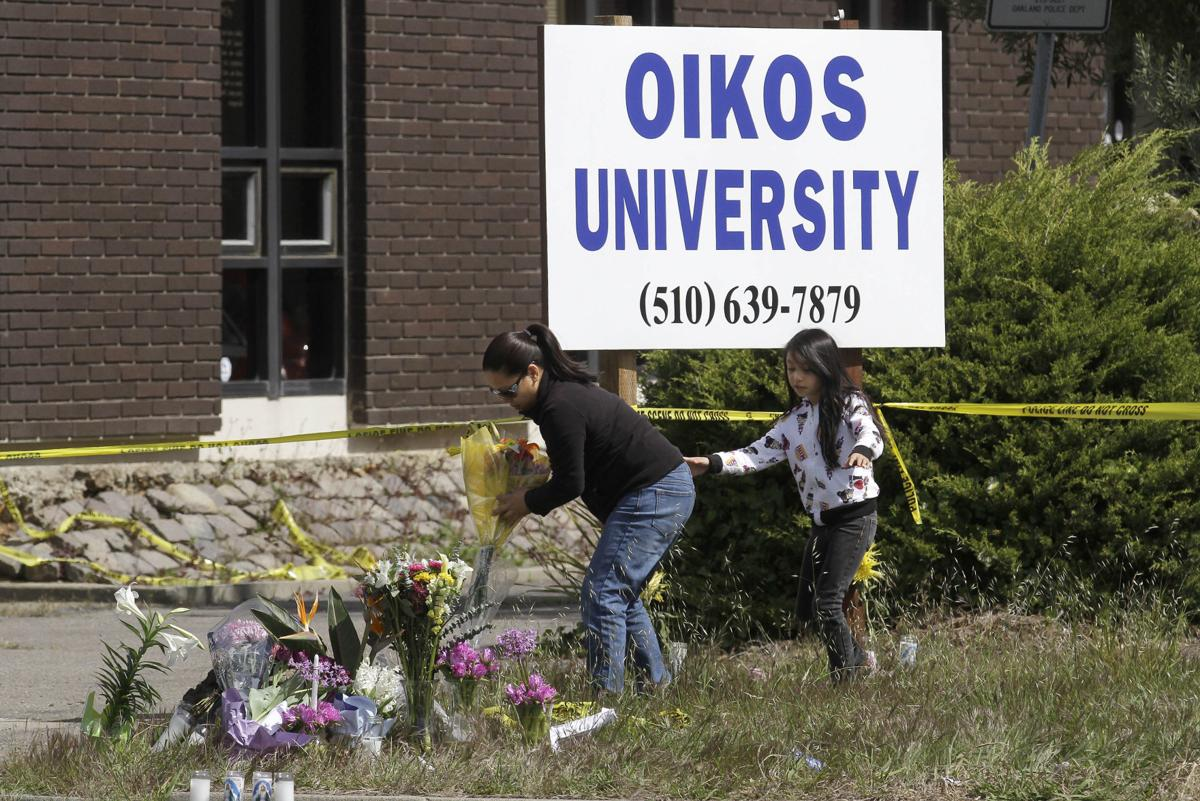 April 2, 2012, Oakland, California: 7 killed, 3 wounded