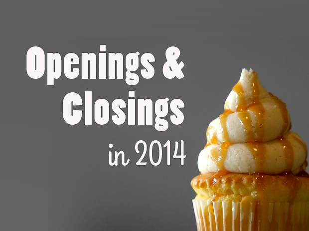 Openings and closings in 2014