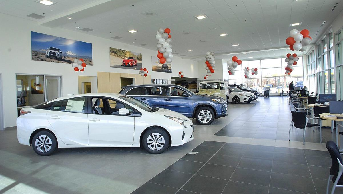 Leman Group Builds New Bloomington Toyota Showroom Service Facility