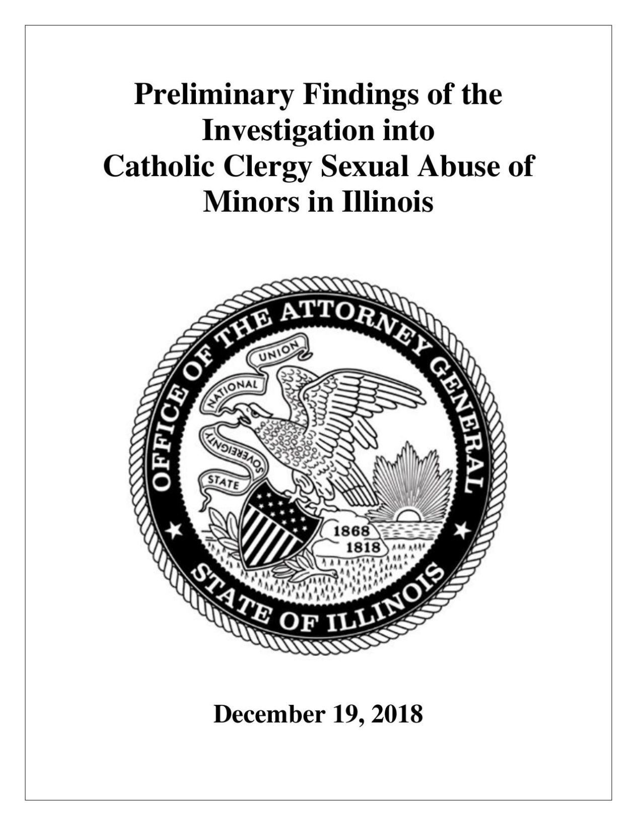 Illinois AG investigation finds 500 more clergy accused of