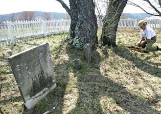 Old cemetery poses grave dilemma for buyers of farm