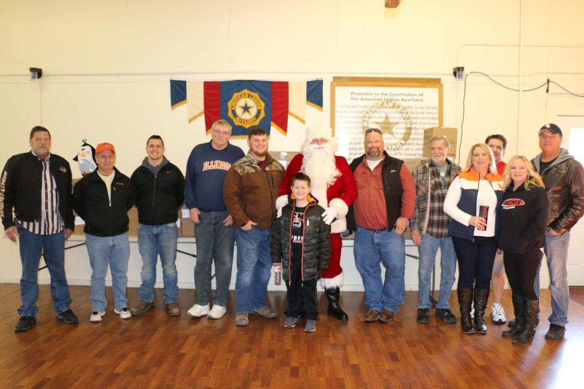 Legion volunteers