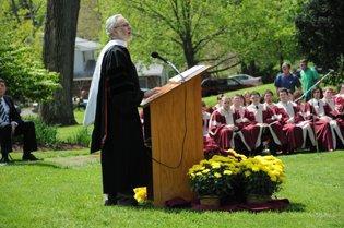 Eureka College graduates its largest class ever