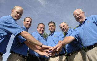 Insurance agency has six on B-N Signature Cup team