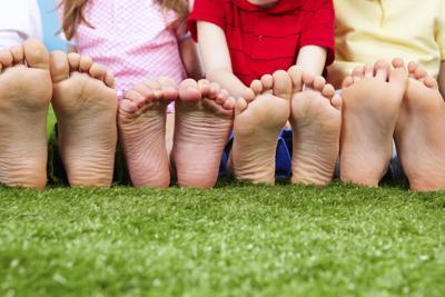Kids funny feet