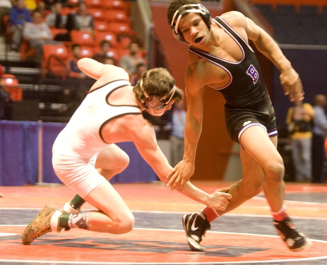BHS Haywood state wrestling prelims