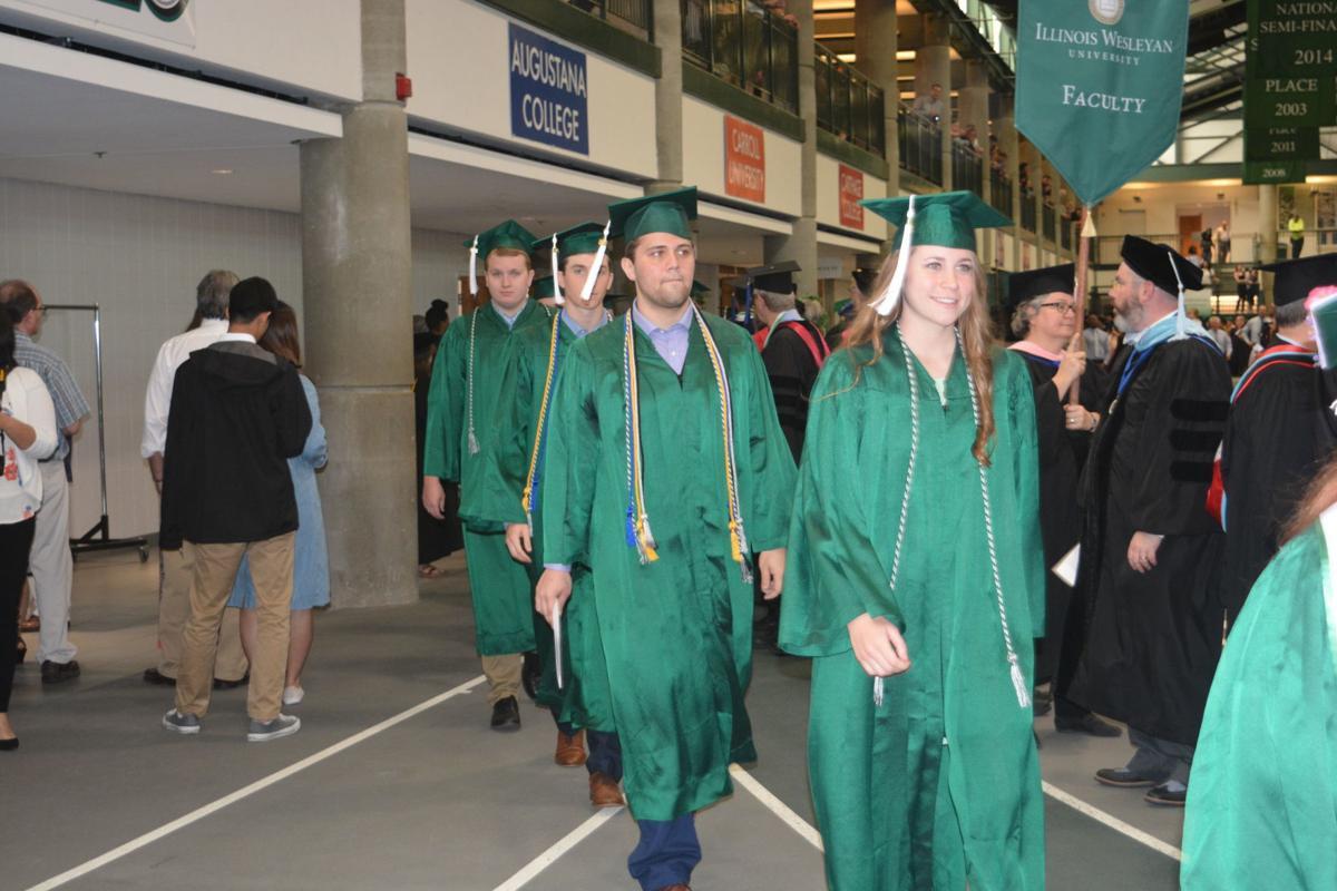 Wesleyan graduation III