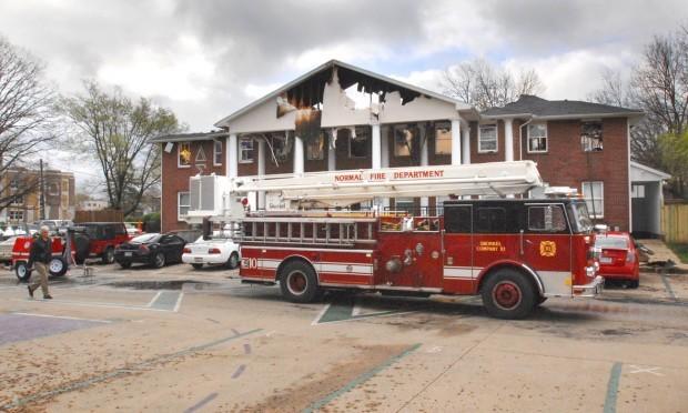 ISU fraternity fire daytime