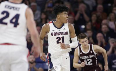 Texas A M Gonzaga Basketball