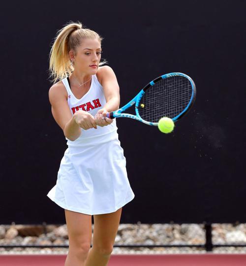 Utah Women's Tennis Madison Tattini