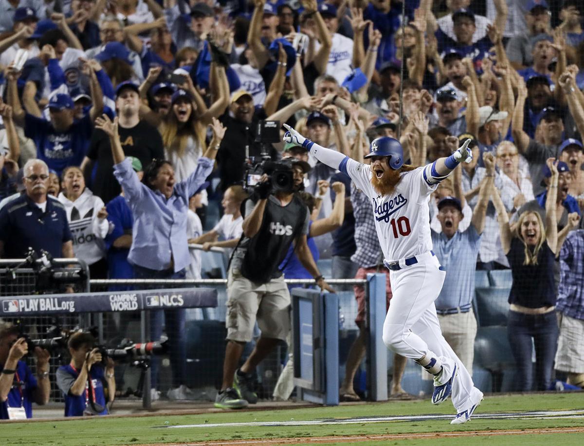 APTOPIX NLCS Cubs Dodgers Baseball