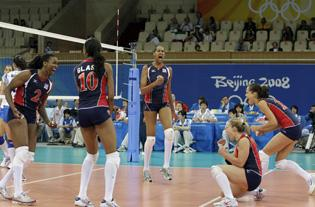 US Womens Volleyball Upsets Italy Will Face Cuba In Semis