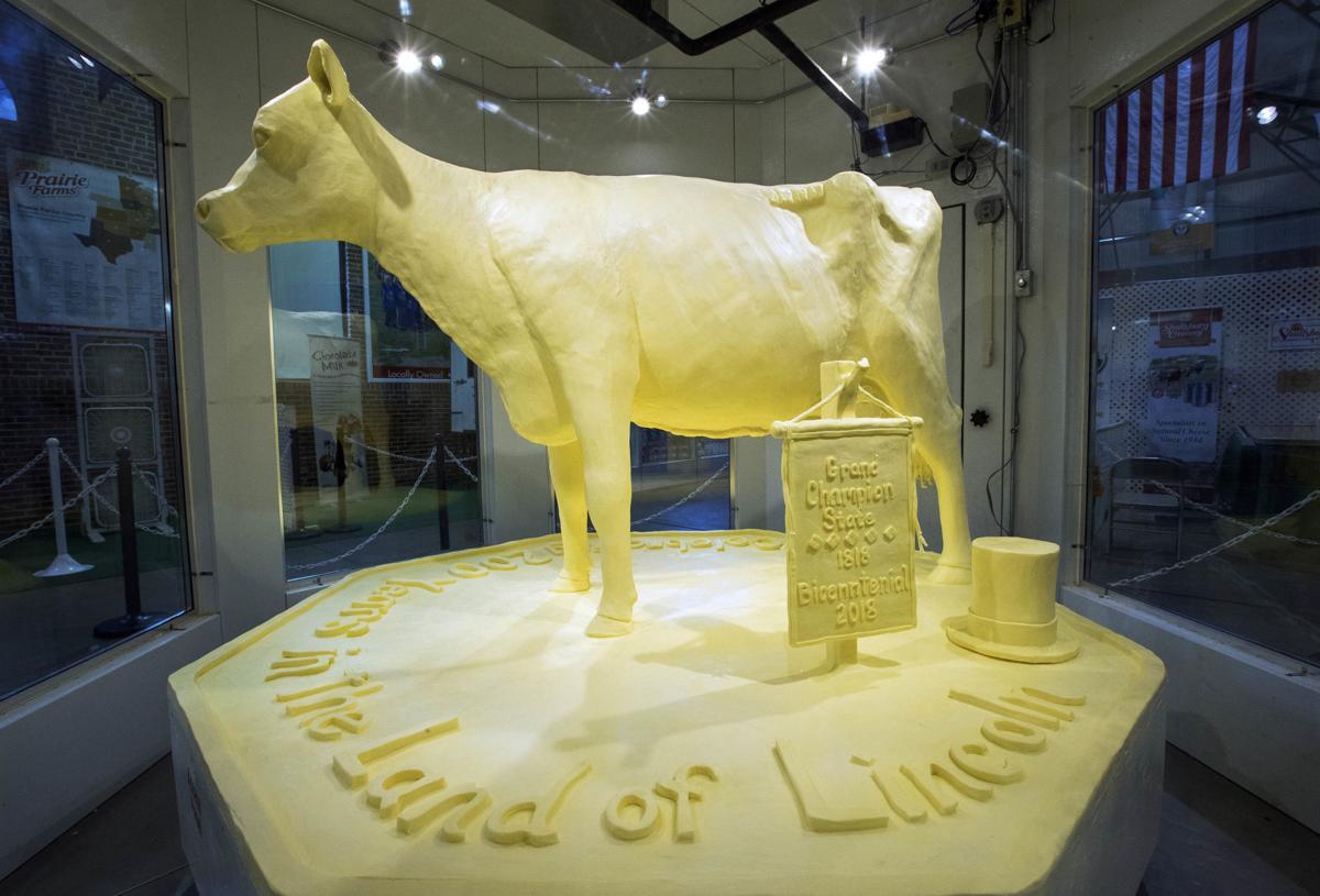 State Fair Butter Cow