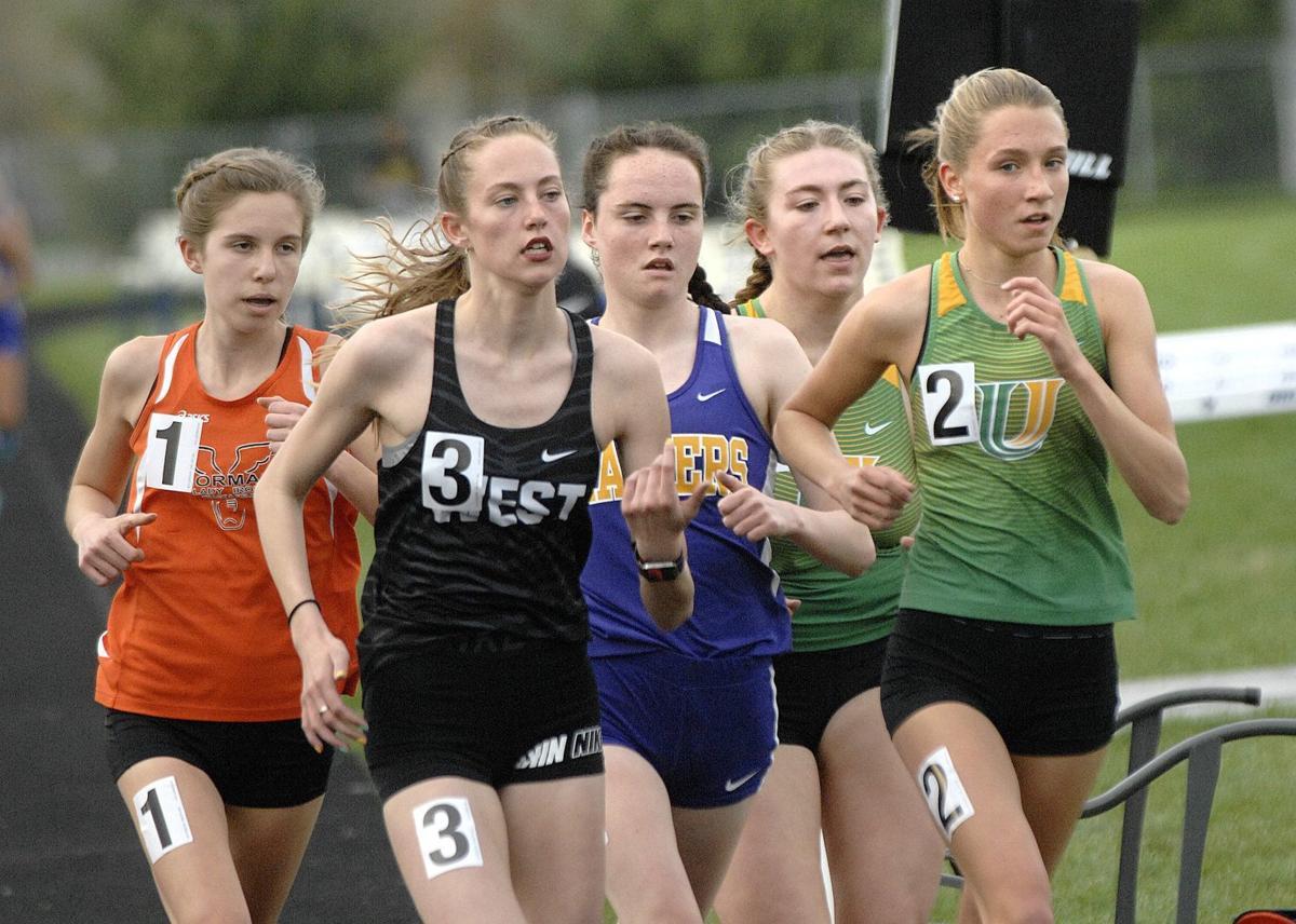 U High girls bolt to Intercity track four-peat | High School