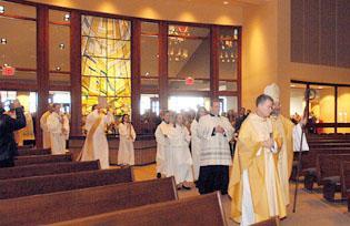 St. Pat's opens new church