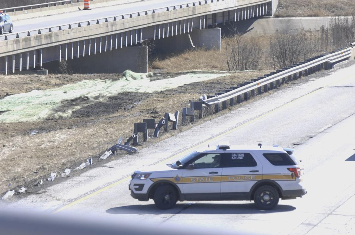 Woman, child taken from SUV that drove into river near