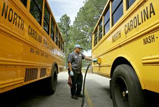 States grapple with fuel costs for school buses