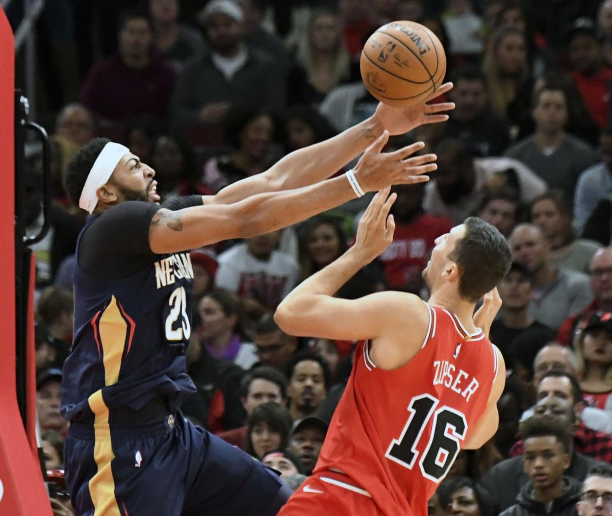 Pelicans Bulls Basketball