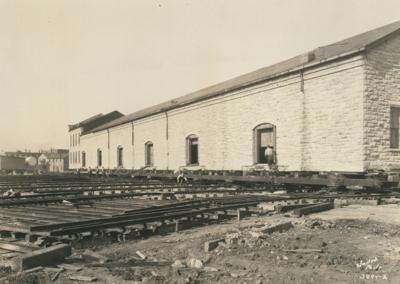 Chicago & Alton Railroad freight house