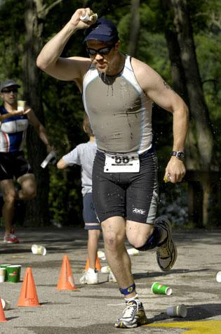 Men's record set at Tri-Shark Triathalon