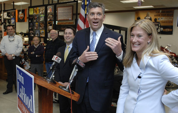 Bloomington Harley Davidson >> LaHood stumps in Bloomington, says ag is top issue ...