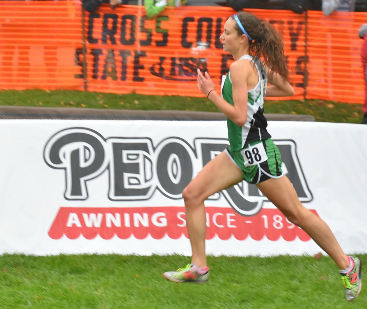 Emma Argo state cross country photo